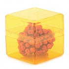 DIY 5mm-Diameter NdFeB Magnet Balls Set - Deep Pink (125pcs)