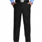 Men's Suit Pants Trousers - Black