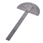 FEIBAO FB0034 Stainless Steel Angle Ruler - Silver