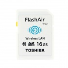 Toshiba FlashAir Wireless LAN W-02 SDHC Memory Card - Weiß (16GB / Class10)