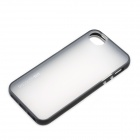 DiscoveryBuy Protective Shockproof back Case for Iphone 5 - Black + Transparent White