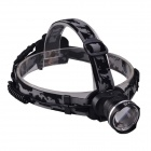 SingFire SF-601D 3-Mode Zooming Headlight w/ Cree XM-L T6, Battery, Charger - Black (1 x 18650)