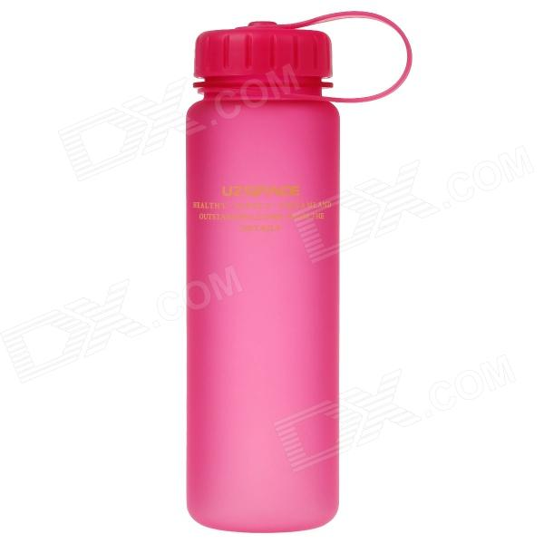 UZSPACE High-quality Leak-proof Frosted Bottle w/ Filter Cover - Deep Pink (500ml)