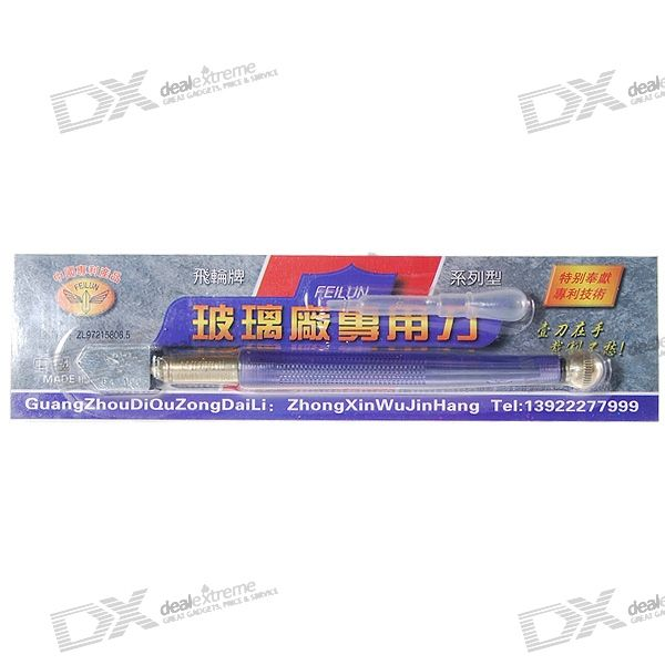 Strong Rolling Glass Cutter (For 2~6mm Glass)