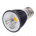 Ziyu ZY-COB-310 E27 5W 450LM 3000K COB LED Warm White Light Bulb Lamp - Black + White (85 ~ 265V)