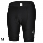 Spakct CSY606 Outdoor Sport Cycling Nylon + Lycra Shorts for Men - Black (Size M)