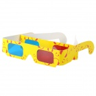 Disposable Anaglyphic Red + Blue 3D Glasses (Assorted 2-Pack)