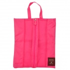 Portable Multifunction Travel Nylon Body Hygiene Kit / Wash / Toilet Bag - Deep Pink