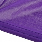 Creative Sleeveless Dress Bath Beach Towel -  Purple