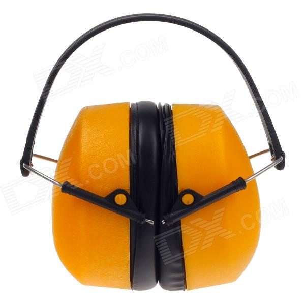 PROVIDE Noise Reduction Protection Earmuff - Yellow + Black new anti noise impact sport hunting electronic tactical earmuff shooting ear protectors hearing protection earmuffs