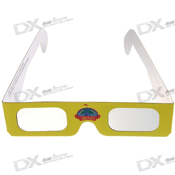 Disposible Polarized 3D Movie/Video Glasses (Assorted)
