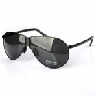 Reedoon 8480 Folding Pocket Fashion Driving Polarized UV400 Protection Sunglasses - Black