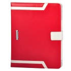 Elegant Protective PU Leather Case for Ipad 2 / 3 / 4 - Red + White