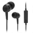 Orvaste OHW202 Stylish Universal 3.5mm Jack Wired Headset w/ Microphone - Black