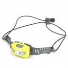 Sunree Youdo Portable 120lm 7-Mode White Headlamp w/ Cree XP-E R3 + 2-LED - Yellow + Grey (3 x AAA)