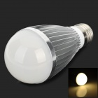 KID KLB-C7-G E27 7W 420lm 3500K COB LED Warm White Light Bulb - Silver + White