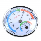 Foldable High-Precision Indoor Thermometers & Hygrometer - Silver