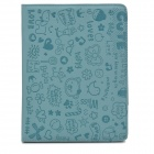 Magic Girl Protective PU Leather Flip Open Case for iPad 2/3/4 - Blue Grey