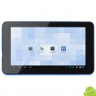 "WM8880-MID 7"" Dual Core Android 4.2 Tablet PC w/ 512MB RAM / 4GB ROM / GPS / HDMI - Blue + Black"