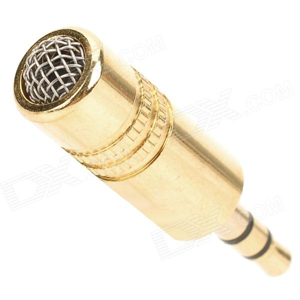 3.5mm Plug Microphone for Computer - Golden
