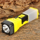 YAGE YG-3749 10 x Epistar LED 35lm White Rechargeable Flashlight - Yellow + Black + White