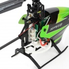 "WLtoys V955 4-CH 2.4G Radio Control R/C Helicopter w/ 3.0"" LCD 4-Model Remote Controller - Green"