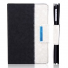 ENKAY ENK-3338 360 Degree Rotation Protective PU Leather Case for Ipad MINI - Black + White
