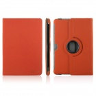 ENKAY ENK-7016 Cowboy Pattern 360 Degree Rotate Protective PU Case for Samsung P5100 - Orange