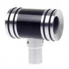 MOMO Hammer Type Automobile Zinc Alloy Gear Lever Head - Black + Silver