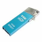 SSK SFD217 Zinc Alloy USB 3.0 Flash Drive - Blue (32GB)