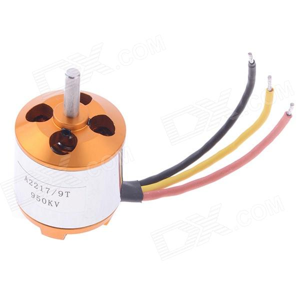 XXD A2217/9T 950kv Brushless Outrunner Motor for Helicopter Quadcopter Multicopter от DX.com INT