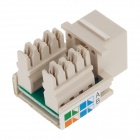 AMP 8-406375-1 Cat.5e Network Module - Beige