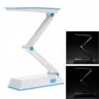 KANGMING KM-6653A 3W 6000k 96lm 32-SMD White Lights 2-Mode Folding Table Light - Blue + White