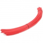 Car Stereo DIY 5mm Plastic Heat-shrink Tube - Red (50 PCS)