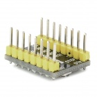 Manolins A4988 PCB Stepper Motor Driver Board for Reprap 3D Printer / Arduino - Black + Yellow