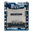 WTV020-SD Micro SD Card / MP3 / Game Player Voice Module - Blue + Black