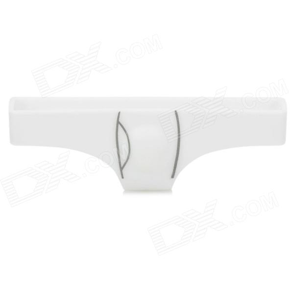 Creative Underwear Style Protective Home Button Cover Protector for Iphone 4 / 4S / 5 - White