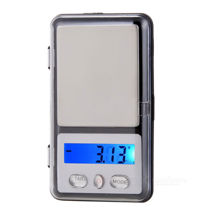 AK-100 Mini 1.2 LCD Display Backlit Portable Digital Scale (100g / 0.01g / 2 x AAA) mini lcd display backlit portable digital scale 100g 0 01g 2 x aaa