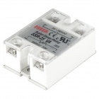 SSR-25VA Resistor Type Solid-state Relay - White + Silver