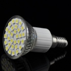 TZY T89 Energy-Saving E14 5.8W 200lm 6500K 30-SMD 5050 LED White Light Lamp Bulb - White (85-265V)
