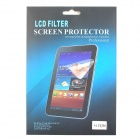 Protective Clear Screen Protector Film for Samsung Galaxy Tab 3 7.0 P3200 - Transparent