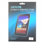 Protective Matte Frosted Screen Protector Film for Samsung Galaxy Tab 3 7.0 P3200 - Transparent