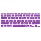 "Protective Silicone Keyboard Cover Skin Guard for MacBook Air 11.6"" - Purple"