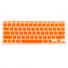 "Protective Silicone Keyboard Cover Skin Guard for MacBook Air 11.6"" - Orange"