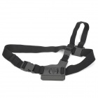 Stylish Chest Strap Belt Harness for GoPro HERO 3+ / 3 / 2 /1 / SJ4000 - Black