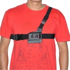 SMJ Stylish Chest Strap Belt Harness for Gopro Hero 4/ 3+ / 3 / 2 /1 / SJ4000 - Black