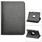 Lychee Pattern 360 Degree Rotation PU Leather Case for Samsung Galaxy Tab 3 10.1 P5200 - Black