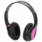 BAT998S Bluetooth V2.0 + EDR Stereo Headset w/ TF Slot + FM - Black + Purple