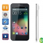 "CUBOT GT99 Quad-Core Android 4.2 WCDMA Bar Phone w/ 4.5""HD, Wi-Fi, GPS and Dual-SIM - White"