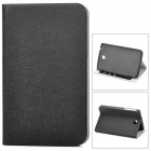 Protective PU Leather + PC Case for Samsung P3200 - Black